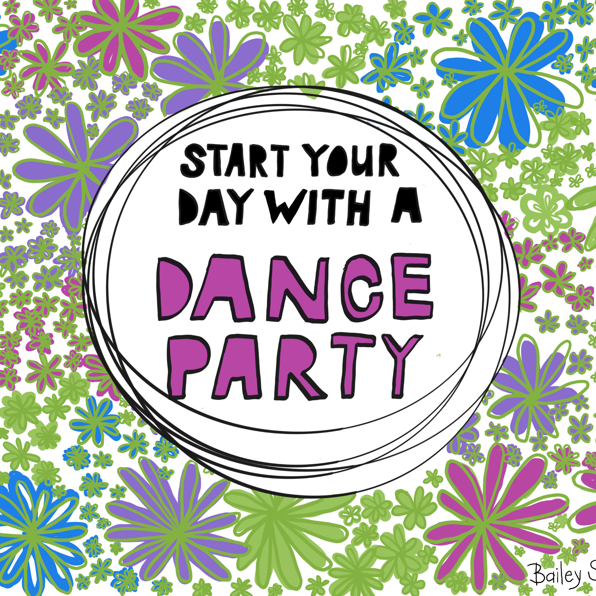 Start with Dance Party